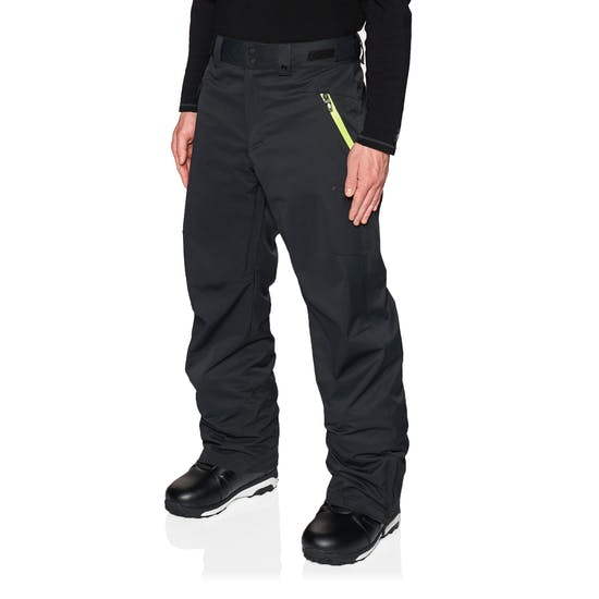 Oakley Crescent 2.0 black yellow – מכנס סנובורד אוקלי קרסנט שחור צהוב