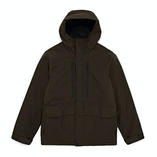 Volcom Ten Insulated Gore-tex - מעיל סקי איכותי צד קדמי