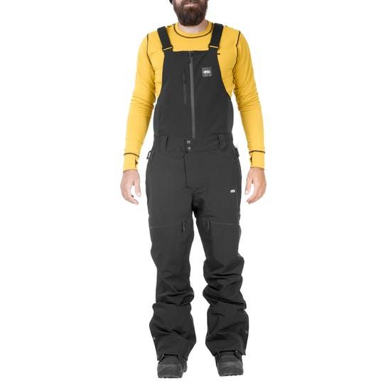 מכנס ביב חליפת סקי פיקצר זפיר שחור
