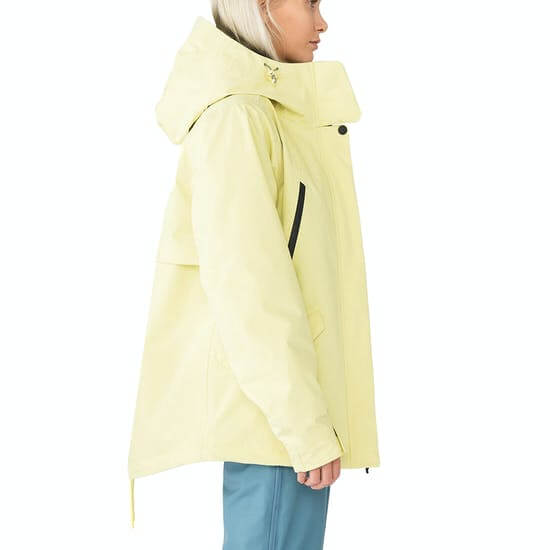Holden Insulated Fishtail מעיל סקי לנשים מבט מהצד