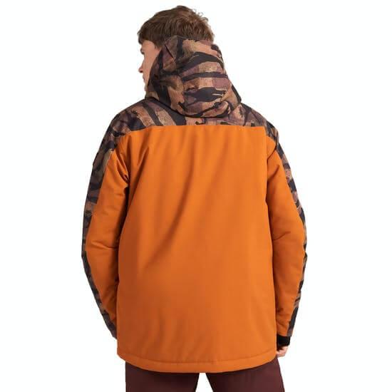 O'Neill Diabase מעיל סקי בהנחה צד אחורי כתום