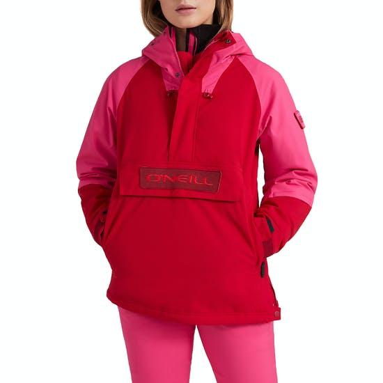 O'Neill Originals - מעיל סקי לנשים מסוג אנורק בהנחה צבע אדום