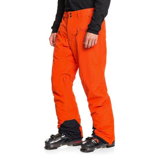 Quiksilver Boundry - מכנסי סקי בזול מבט מהצד