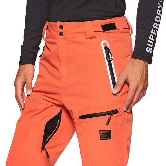 Superdry Freestyle מכנסי סקי עם פתחי אוורור